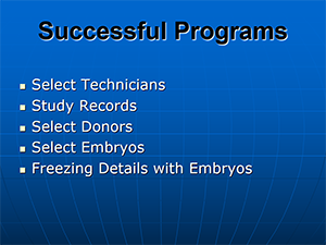 Sucessful ET Programs